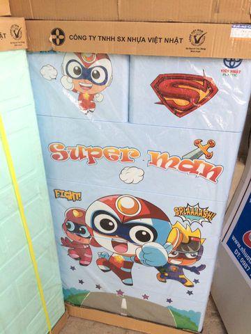 TỦ NHỰA SUPER MAN