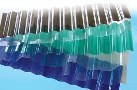 tôn nhựa sóng tròn