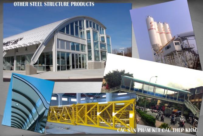 Các sản phẩm kết cấu thép khác