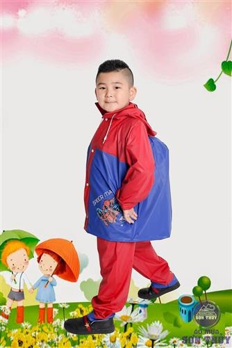 Bộ áo mưa trẻ em