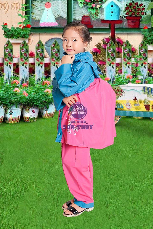 Áo mưa trẻ em nhựa PVC Đài Loan