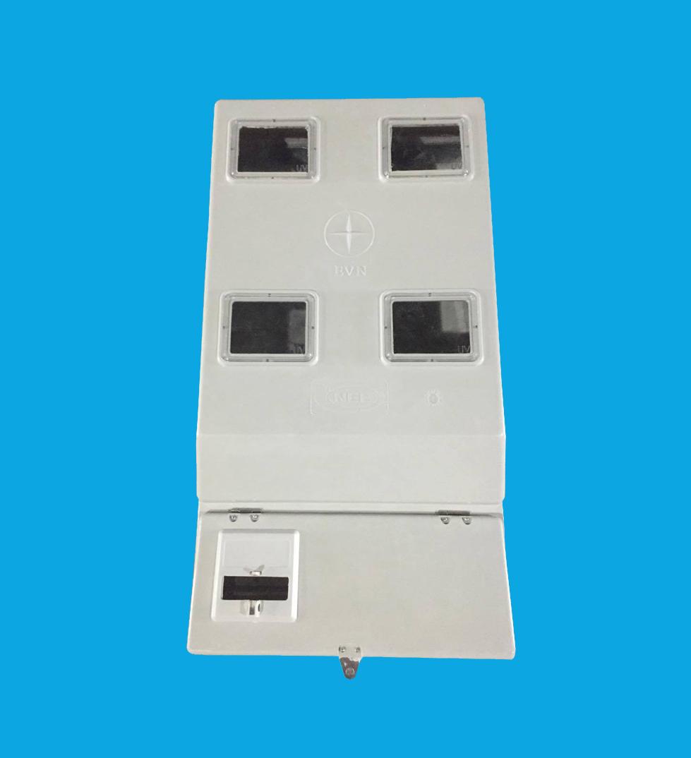 Hộp 4 công tơ 1 pha Composite