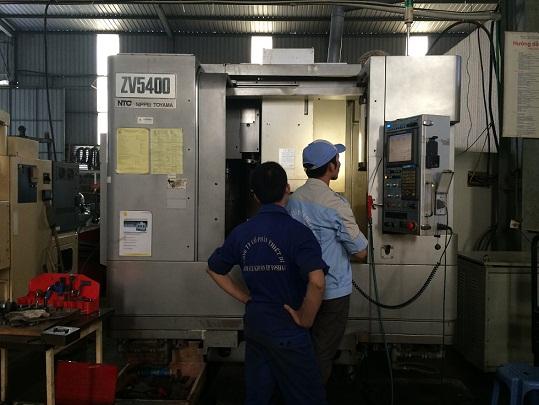 Trung tâm gia công CNC Nippei Yamoto