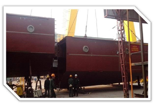 Gia công kết cấu thép tàu