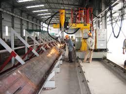 Gia công chế tạo các cấu kiện kim loại