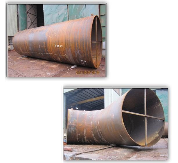Gia công kết cấu thùng, bể chứa
