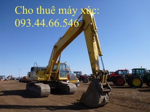Cho thuê máy xúc đào PC400-8