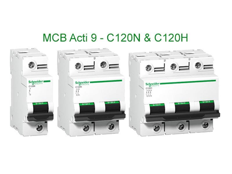 Cầu dao tự động Acti9 - MCB C120N & C120H