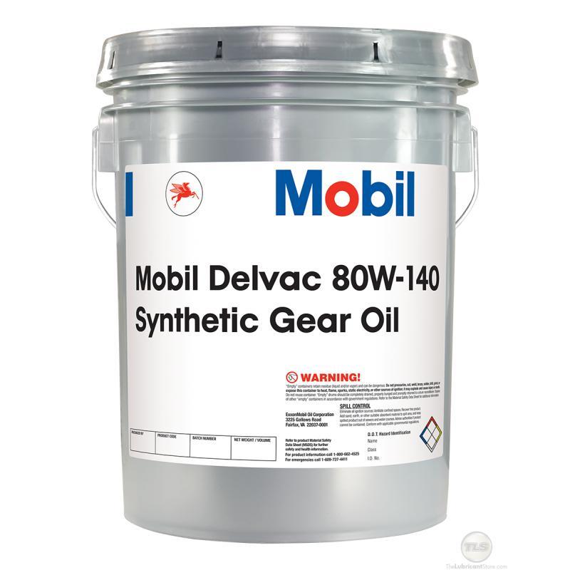 DELVAC SYNTHETIC GEAR OIL 80-140