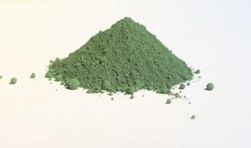 Bột màu xanh lá