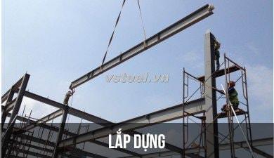 Lắp dựng nhà thép tiền chế