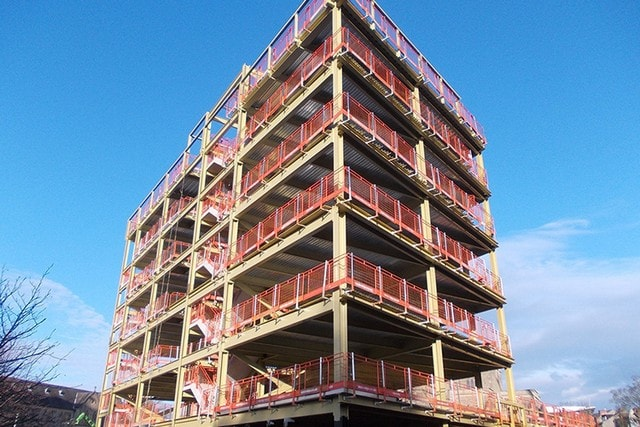 Nhà khung thép cao tầng