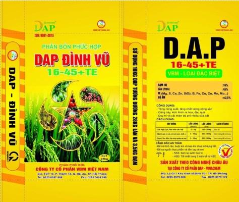 Phân bón phức hợp DAP Đình Vũ