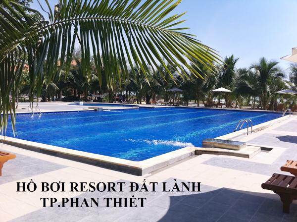 Hồ Bơi Resort Đất Lành