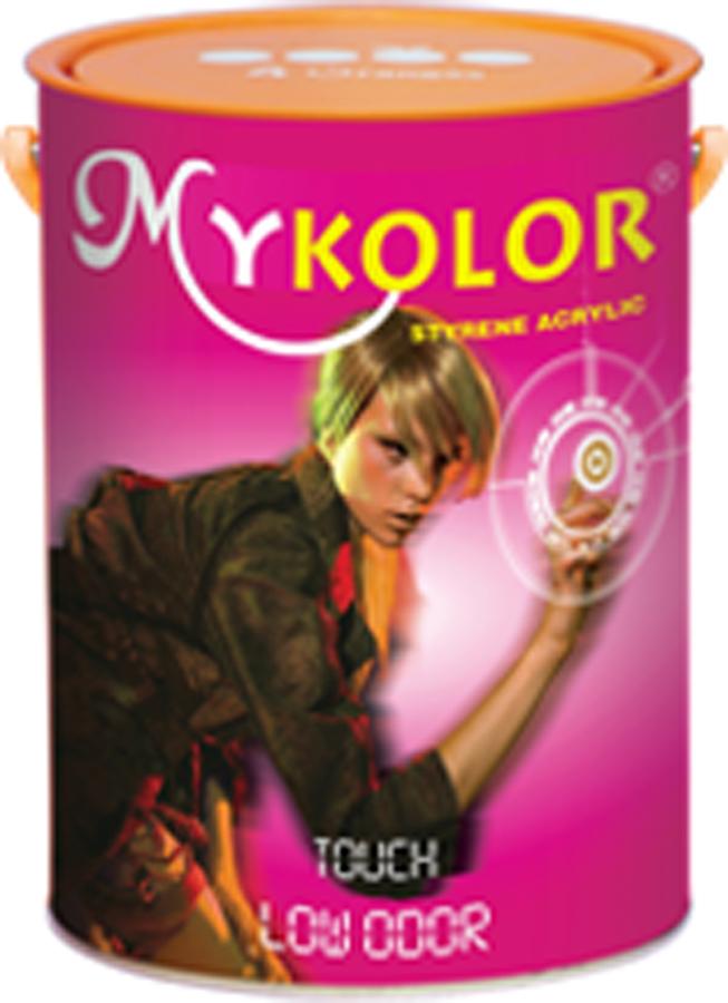 Sơn bóng nội thất đặc biệt không mùi Mykolor 4L