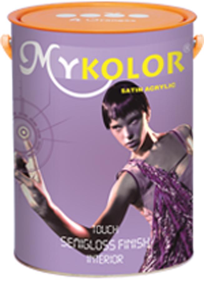 Sơn phủ nội thất mặt bóng Mykolor 4,375 L
