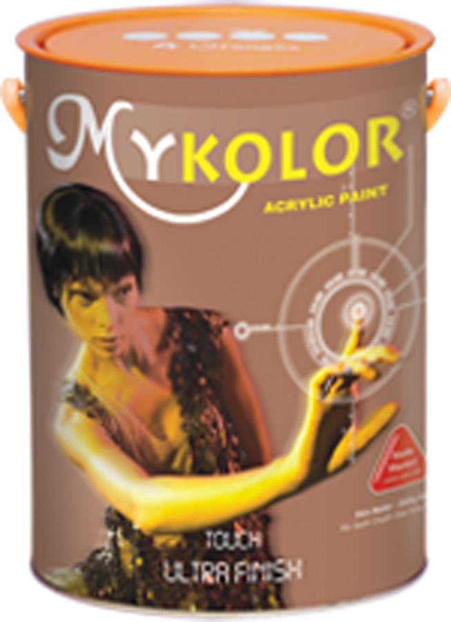 Sơn đặc biệt ngoại thất chống bám bẩn 4,375L - Mykolor Ultra Finish