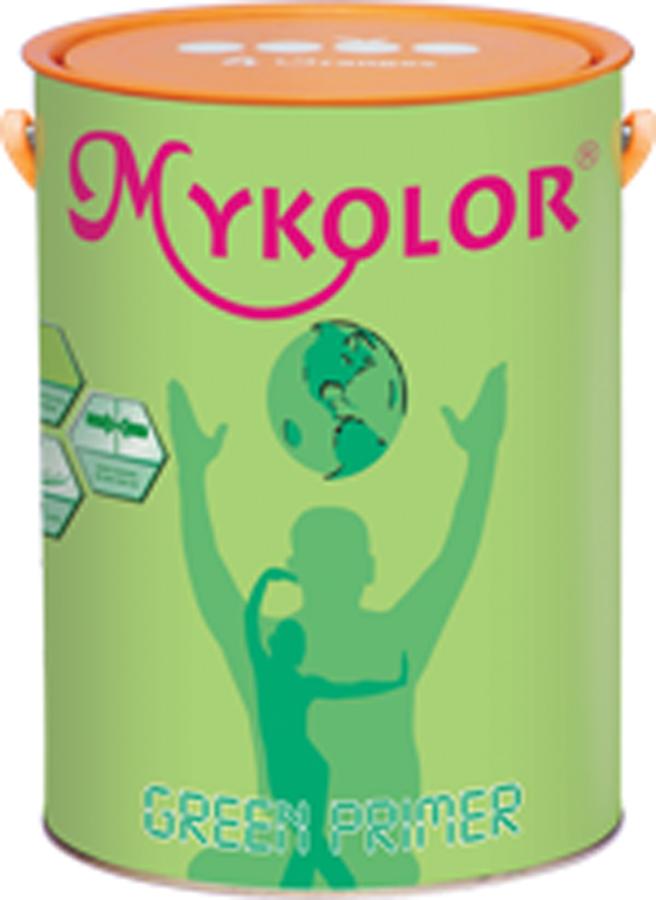 Sơn lót chống kiềm đặc biệt trong nhà MYKOLOR GREEN PRIMER 4,375 Lít