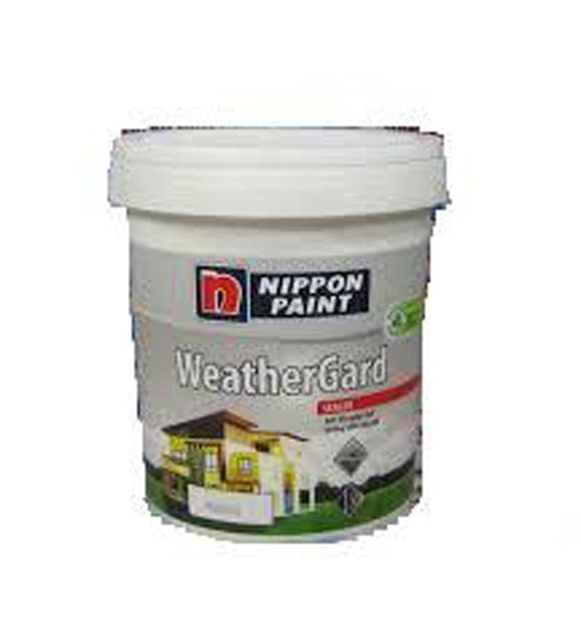 Sơn lót chống kiềm ngoài nhà Nippon Weather Grard Sealer trắng 18L
