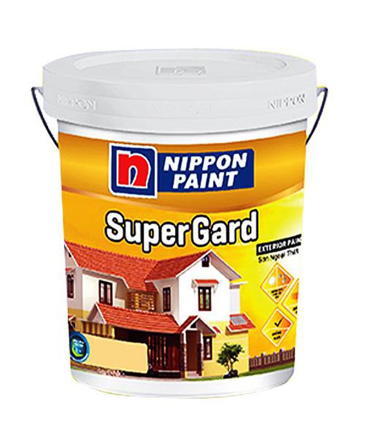Sơn phủ ngoại thất Nippon Super Grard màu chuẩn 18L