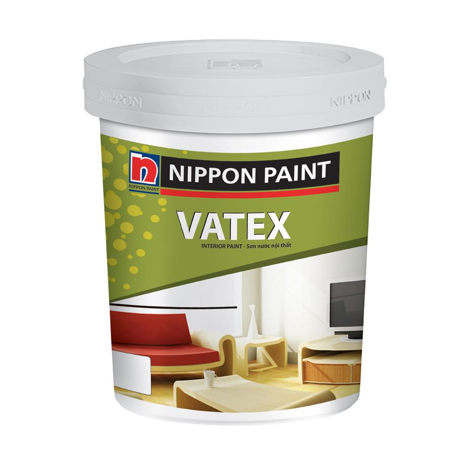 Sơn phủ nội thất Nippon Vatex các màu 17L
