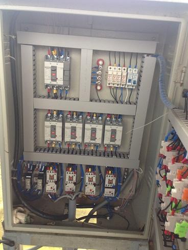 Hệ thống giám sát tự động PLC.