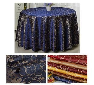 Vải gấm khăn bàn