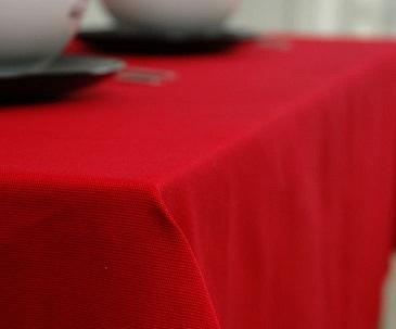 Khăn bàn PH đỏ