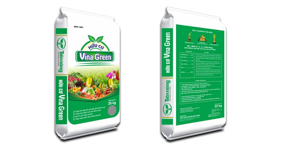 Phân bón hữu cơ Vina Green