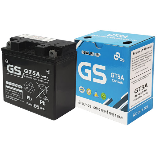 Bình ắc quy khô GS GT5A