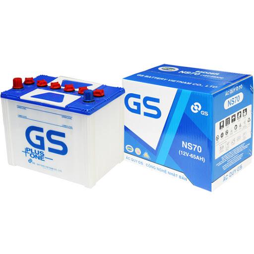 Bình ắc quy GS NS70