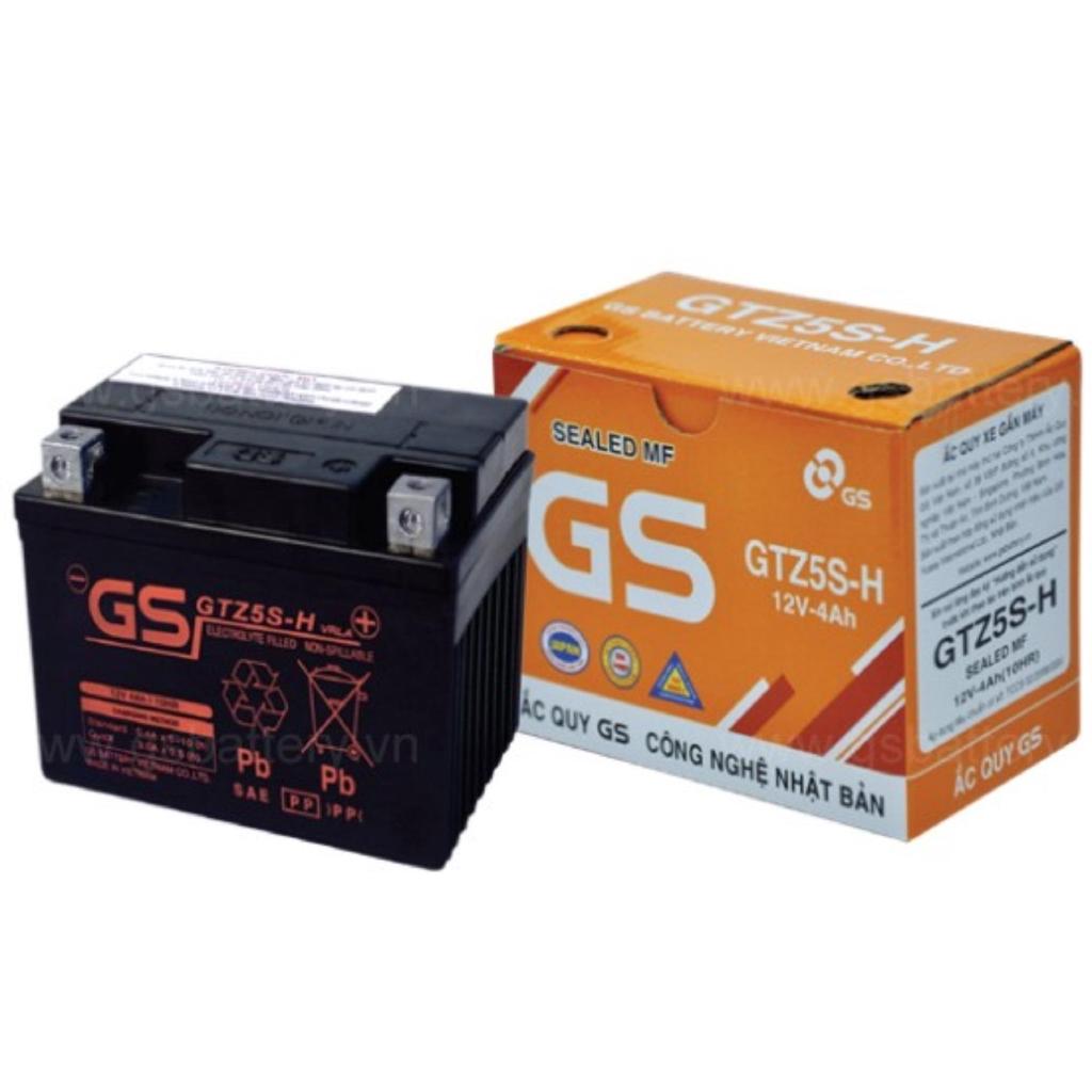 Bình ắc quy khô GS GTZ5S