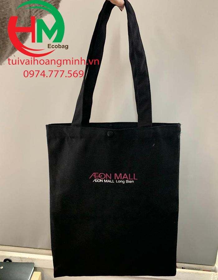 Túi vải bố aeon mall