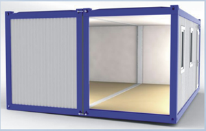 Nhà lắp ghép Container