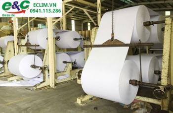 Xử lý nước thải trong ngành sản xuất giấy