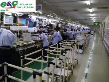 Xử lý nước thải ngành sản xuất linh kiện