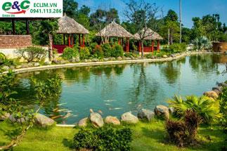 Xử lý nước thải khu sinh thái, resort