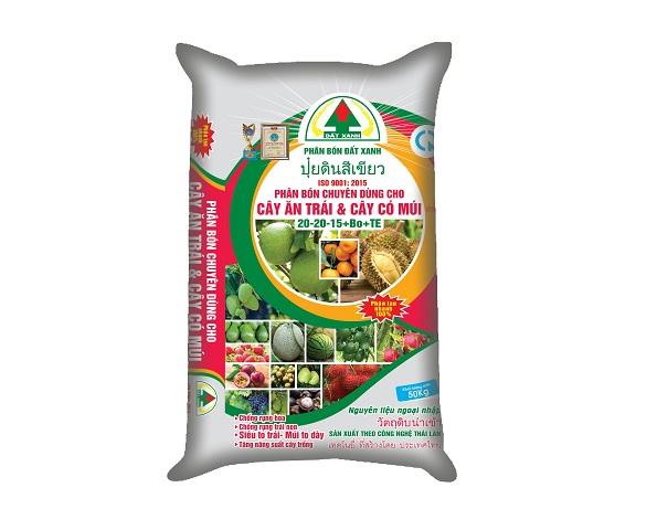 Phân bón chuyên dùng cho cây ăn trái Đất Xanh