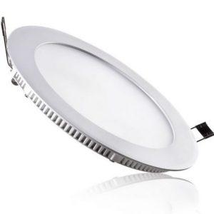 Đèn Led âm trần siêu mỏng mặt tròn 12w TLC