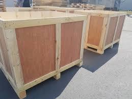 Thùng gỗ công nghiệp