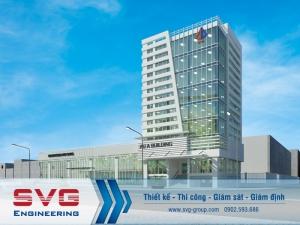 Thiết kế tòa nhà văn phòng kết hợp shoroom 10 tầng