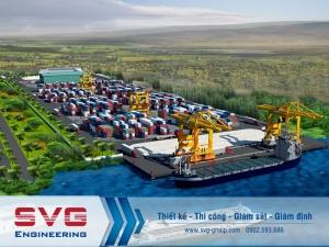 Thiết kế cảng tổng hợp Vinalines Hậu Giang