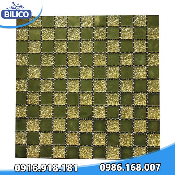 Gạch Mosaic Ánh Kim