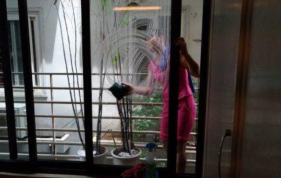 Dịch vụ lau kính tòa nhà, vệ sinh bảo trì...