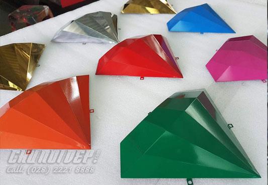 Kim cương inox sơn hấp nhiệt