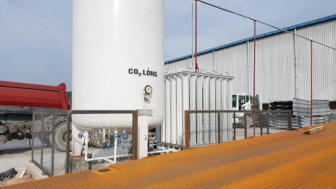 Lắp đặt bồn chứa khí