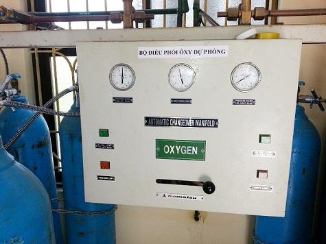 Bộ điều phối Oxy dự phòng