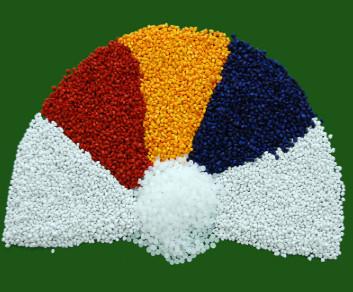 Hạt nhựa các màu
