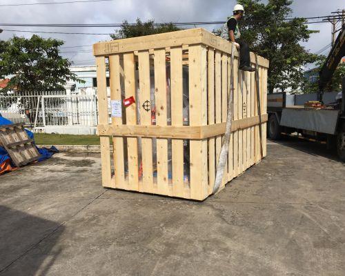 Đóng pallel gỗ, kiện gỗ 8