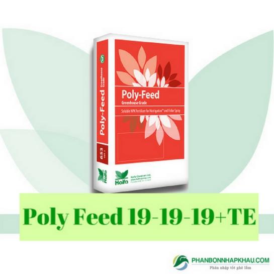 Phân tưới nhỏ giọt Poly feed 19-19-19+TE